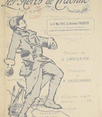 La Chanson de Craonne – première guerre mondiale