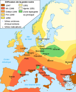 La Peste noire du XIVe siècle – 1348