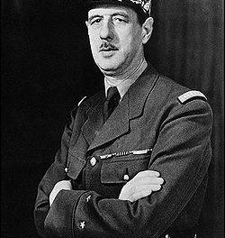 portrait général de Gaulle