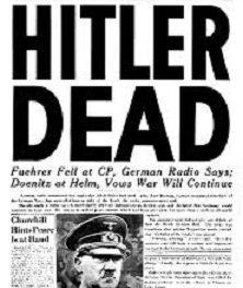 portrait de Hitler