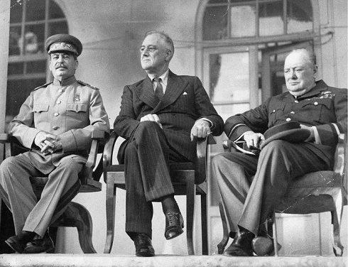 Les accords de la conférence de Téhéran 1943