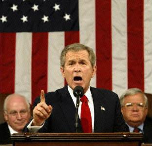 Discours de G. W. Bush sur l'état de l'Union, 29 janvier 2002