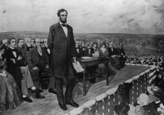Discours de Lincoln à Gettysburg (19 novembre 1863)