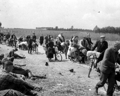 L'exode des civils en mai-juin 1940 en France