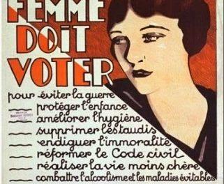 femme doit voter