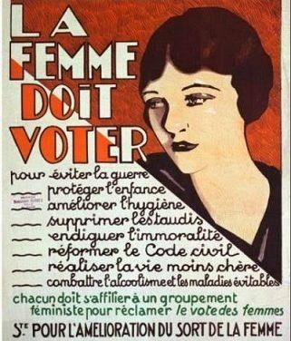 La Chambre vote pour le suffrage féminin (1919-1936)