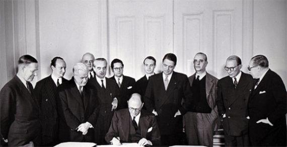 Le Traité de l' Atlantique Nord (4 avril 1949)