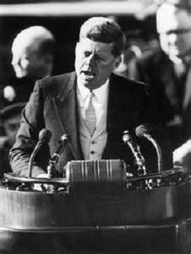 Discours d'investiture de J. F Kennedy – 20 janvier 1961