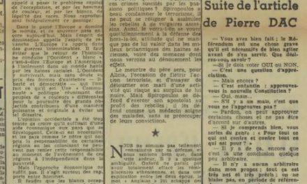 """Jean Monnet et les peuples de """"couleur"""""""