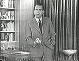 Senator Richard Nixon's Checker's Speech