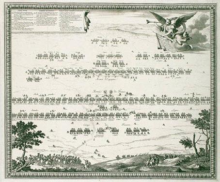La bataille de Rethel 1650