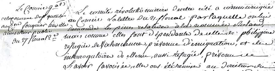 Une commune française sous la Convention montagnarde : la municipalité de Saint-Quentin (1794)