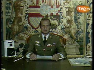 Allocution télévisée du Roi d'Espagne Juan Carlos, 24 février 1981