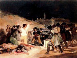 Proclamation du Maréchal  Murat : guerre d'indépendance espagnole