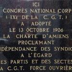 LA CHARTE D'AMIENS (1906)