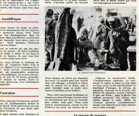 1972 – Le charme discret des traditions afghanes