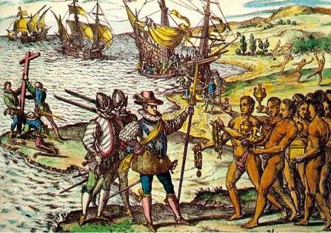 Journal de bord de Christophe Colomb : premiers contacts avec les peuples d'Amérique