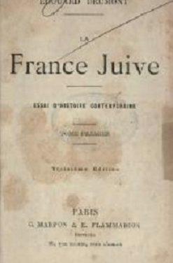 La France juive – Édouard Drumont