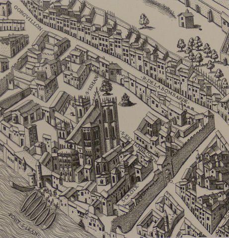 La contagion de Lyon – 1628 d'après le Mercure François