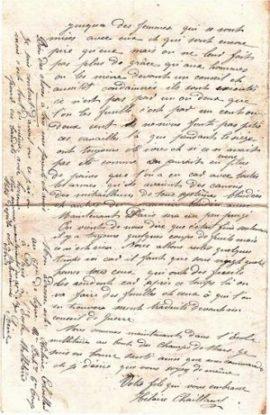 Lettre du 27 mai 1871 : un simple soldat versaillais raconte sa «semaine sanglante»