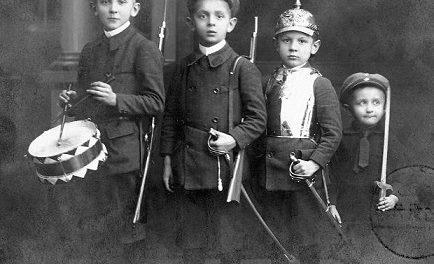 enfant allemand pendant première guerre mondiale