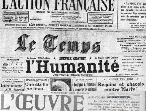 Violences policières – regards de la presse en 1922