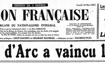 Image illustrant l'article L'Action_française___organe_du_[...]Action_française_bpt6k7666940_1 de Clio Texte