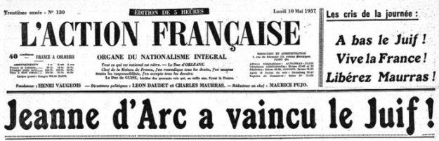 Jeanne d'Arc contre Léon Blum