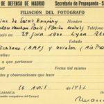 Saint-Exupéry,  reporter de guerre dans  Madrid assiégée