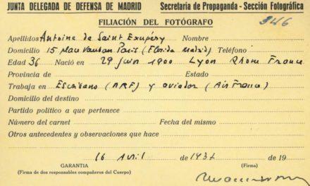 Saint Exupéry Madrid assiégée