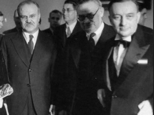 Bidault, le plan Marshall et la conférence de Paris (27 juin 1947)