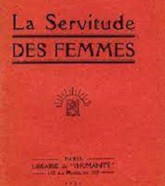 La servitude des femmes Marthe Bigot