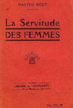 De la servitude des femmes… Et des moyens de s'en libérer