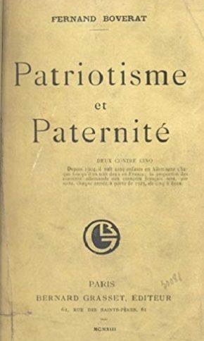Patriotisme et Paternité : pour la France, faites des enfants! (1913)