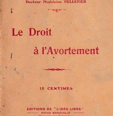 Avortement, avortements dans la France d'avant 1914