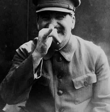 Staline, l'homme qui rit !