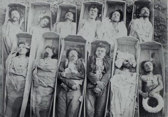 Quand les morts de la Commune de Paris refont surface…