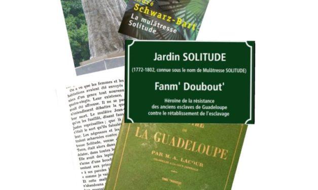 La mulâtresse Solitude : de la fiction à l'histoire
