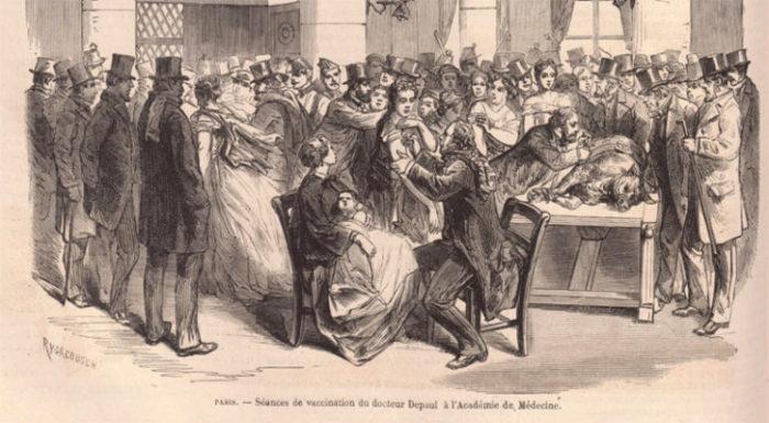 Les débats sur l'obligation vaccinale en 1881 et les arguments des opposants