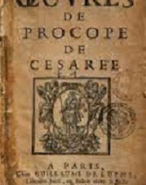 peste de Justinien Procope de Césarée