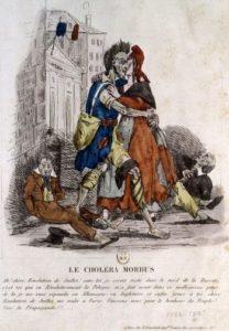le choléra à Paris en 1832