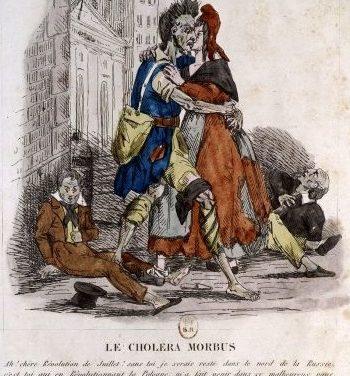 Un Allemand à Paris au temps du choléra -1832