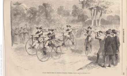 le vélocipède et les femmes