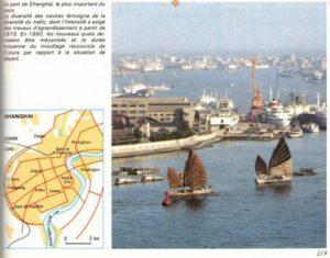 Chine dans un manuel de géographie de 1983