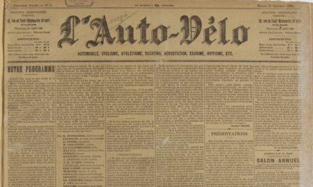 Image illustrant l'article L'Auto-vélo de Clio Texte