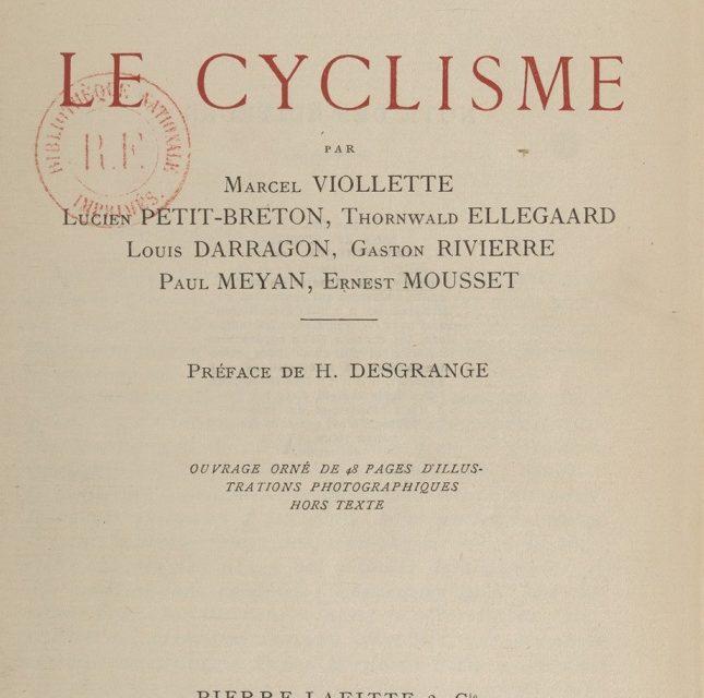 La bicyclette, mode d'emploi pour les femmes -1912