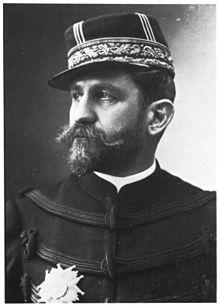 Le général Boulanger par Nadar