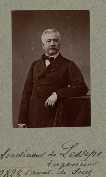 Ferdinand de Lesseps, ingénieur, canal de Suez : [photographie, tirage de démonstration] / [Atelier Nadar]