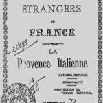 Couverture d'un ouvrage italophobe en 1903