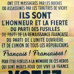 Affiche communiste pour les élections municipales et législatives de 1945-1946